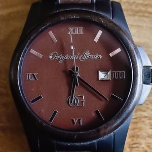 Original Grain Ebony Black Watch
